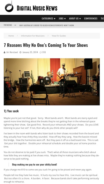 7-reasons-why-no-one-omes-to-your-shows