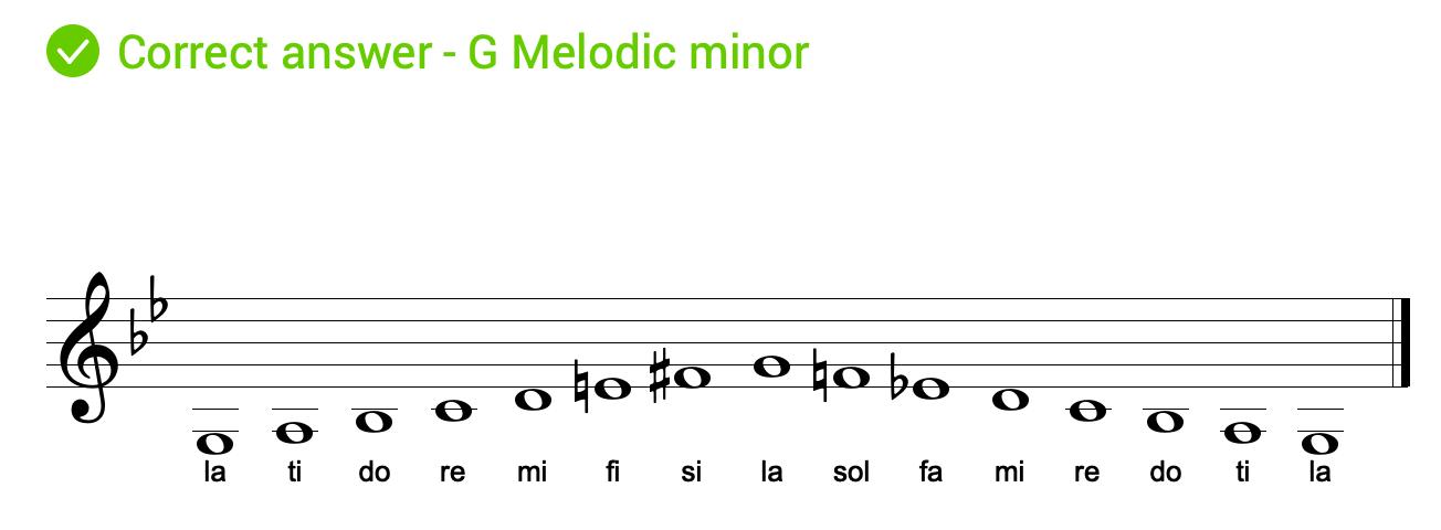 solfege-melodic-minor